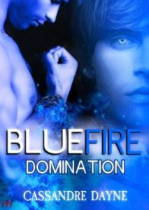 Blue Fire Domination Fire Series book 2 by Cassandra Dayne